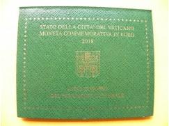 2 euro mince sběratelské Vatikán 2018 -Rok Kulturního dědictví - UNC