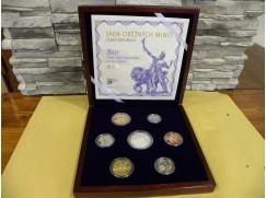 sada oběžných mincí 2013 - 20 let ČNB a české měny - proof