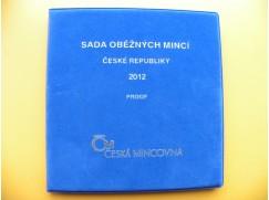 sada oběžných mincí ČR 2012 -  proof