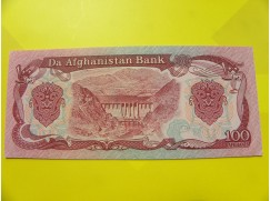 bankovka 100 afghání