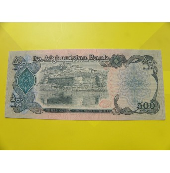 bankovka 500 afghání