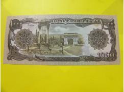 bankovka 1000 afghání