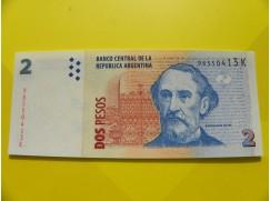 bankovka 2 pesos - série K