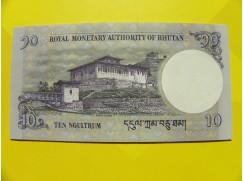 bankovka 10 ngultrum - série K