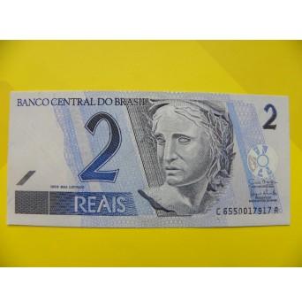 bankovka 2 reais - série C