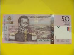 bankovka 50 gourde - série A
