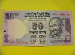 bankovka 50 rupií - série BS