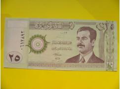 bankovka 25 dinárů