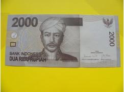 bankovka 2000 rupií