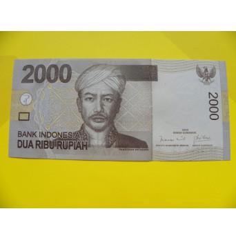 bankovka 2000 rupií Indonésie 2009 - série 1AH