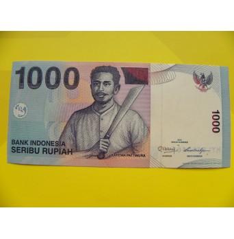 bankovka 1000 rupií Indonésie 2011 - série HYL