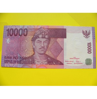 bankovka 10000 rupií Indonésie 2005- série NAT