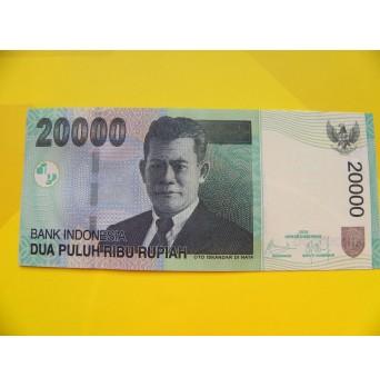 bankovka 20000 rupií Indonésie 2009 - série NDY