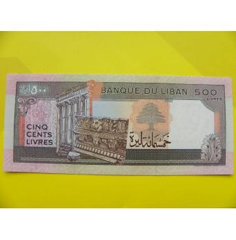 bankovka 500 liber