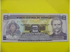 bankovka 2 lempiras série W