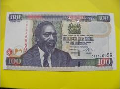 bankovka 100 šilinků série CR
