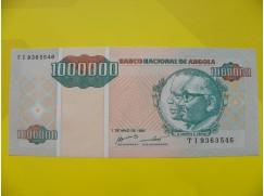 bankovka 1milion Kwanzas - série TI