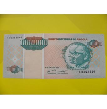 bankovka 1milion angolských kwanzas/1995