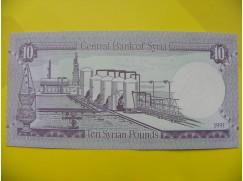 bankovka 10 Syrských liber 1991