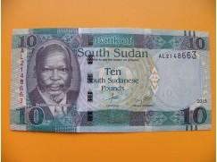 bankovka 10 liber Jižní Sudán - série AL