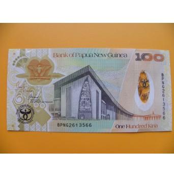 bankovka 100 kina Papua - Nová Guinea