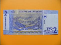 bankovka 2 sudánské libry Sudán 2006 - série BB