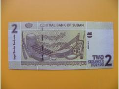 bankovka 2 sudánské libry Sudán 2011 - série BD
