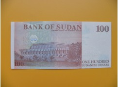 bankovka 100 sudánských dinárů Sudán 1994 - série L