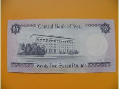 bankovka 25 Syrských liber 1991