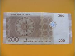 bankovka 200 Syrských liber 2009