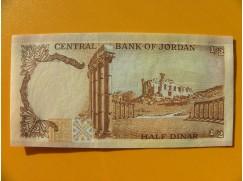 bankovka 1/2 dinár - Jordánsko