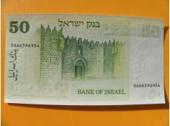 bankovka 50 Lirotů - Izrael