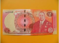 bankovka 2 paʻanga - království Tonga  - série A