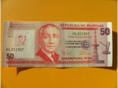 bankovka 50 peso Filipíny/2013 - série HL