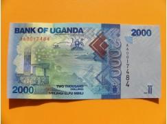 bankovka 2000 šilinků Uganda/2010 - série AA