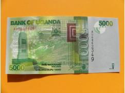 bankovka 5000 šilinků Uganda/2013 - série AU