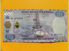 2000 Rwandských franků - série BA
