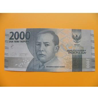bankovka 2000 rupií Indonésie 2016 - série CAY