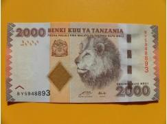 bankovka 2000 šilinků Tanzanie 2010 -série BY