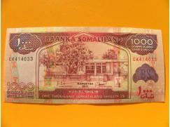 bankovka 1000 šilinků Somaliland 2011 - série CK