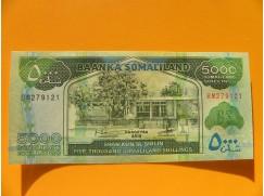 bankovka 5000 šilinků Somaliland 2015 - série BM