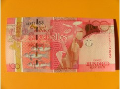 bankovka 1000 rupií Seychely 2013 - série AL