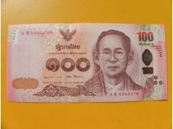 bankovka 100 bahtů Thajsko 2017 -série K
