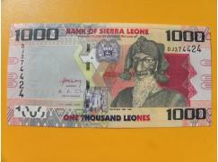 bankovka 1000 Leones Siera Leone 2010 -série DJ