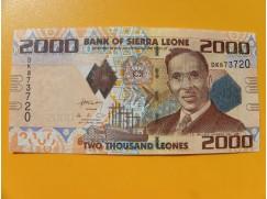 bankovka 2000 Leones Siera Leone 2010 -série DK