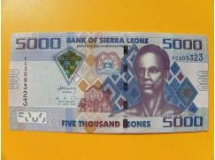 bankovka 5000 Leones Siera Leone 2010 -série FC
