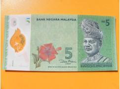 bankovka 5 ringgitů Malajsie 2012 -série BG - polymar