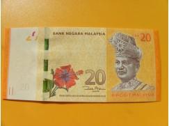 bankovka 20 ringgitů Malajsie 2011 -série AU