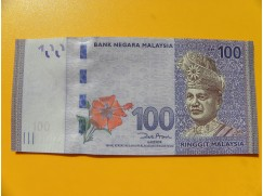 bankovka 100 ringgitů Malajsie 2011 -série AU
