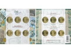 Sady dvacetikorun s portréty tvůrců státu a měny  - standard